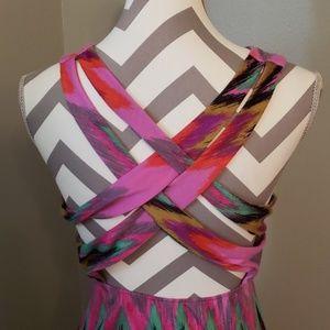 No Boundaries Dresses - Colorful Maxi Dress